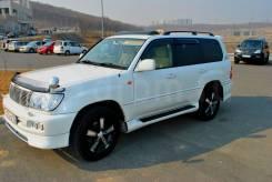 Toyota Land Cruiser. автомат, 4wd, 4.7 (235 л.с.), бензин, 180 000 тыс. км