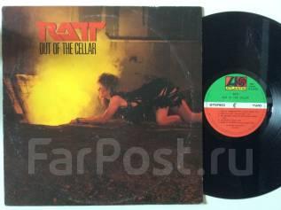 HARD! РЭТТ / RATT - Out of the Cellar - JP LP виниловая пластинка