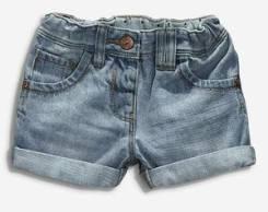 Шорты джинсовые. Рост: 98-104, 104-110, 110-116, 122-128 см