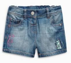 Шорты джинсовые. Рост: 98-104, 104-110, 110-116, 116-122, 122-128, 128-134 см