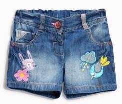 Шорты джинсовые. Рост: 86-98, 98-104, 104-110, 110-116, 116-122, 122-128 см