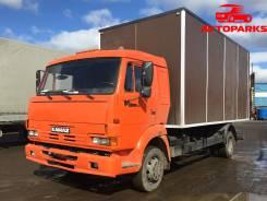 Камаз 4308. Грузовой фургон камаз 4308 2007 года, 5 000 куб. см., 6 300 кг.