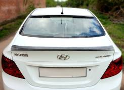 Спойлер на заднее стекло. Hyundai Solaris