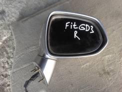 Зеркало заднего вида боковое. Honda Fit, GD4, GD3, GD2, GD1