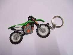 Брелок для ключей резиновый Kawasaki KLX