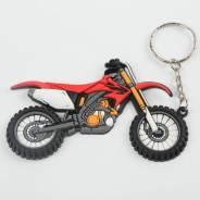 Брелок для ключей резиновый Honda CRF