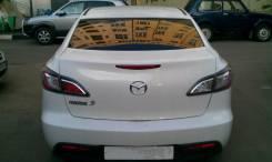 Спойлер на заднее стекло. Mazda Mazda3