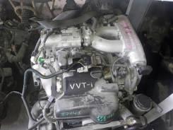 Двигатель в сборе. Toyota Crown, JZS157 Двигатель 2JZGE