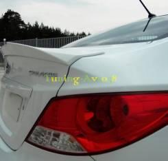 Спойлер. Hyundai Solaris