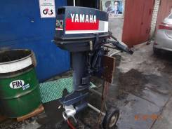 Yamaha. 20,00л.с., 2х тактный, бензин, нога S (381 мм)