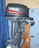 Yamaha. 30,00л.с., 2х тактный, бензин, нога S (381 мм), Год: 2004 год