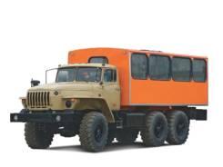 Вахтовый автобус УРАЛ. С водителем