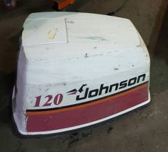 Johnson. 120,00л.с., 2х тактный, бензин, нога L (508 мм), Год: 1996 год