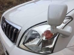 Зеркало заднего вида на крыло. Toyota Land Cruiser Prado, GRJ120, GRJ120W, GRJ121, GRJ121W, KDJ120, KDJ120W, KDJ121, KDJ121W, KDJ125, KDJ125W, RZJ120...