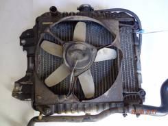 Радиатор охлаждения двигателя. Nissan AD, VHB11