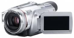 Panasonic NV-GS500. Менее 4-х Мп, с объективом