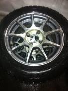 Продам зимние колёса R14 на литье. x14 4x98.00, 4x100.00