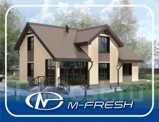 M-fresh Resonance (Вот какой свежий проект яркого дома! Посмотрите! ). 200-300 кв. м., 1 этаж, 5 комнат, бетон