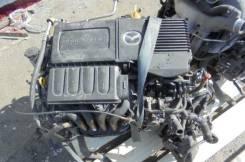 Двигатель в сборе. Mazda Demio, DJ5AS, DE3AS, DJ5FS, DJ3AS, DY5R, DE3FS, DW3W, DY3R, DY5W, DW5W, DY3W, DJLFS, DE5FS, DEJFS, DJ3FS, GW5W Двигатели: ZJV...