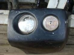 Клык бампера. Mitsubishi Pajero Mini, H58A, H53A
