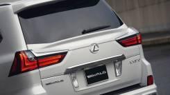 Спойлер на заднее стекло. Lexus LX570