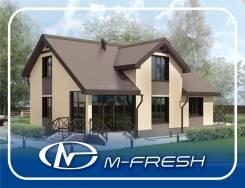 M-fresh Resonance (Вот какой свежий проект яркого дома! Посмотрите! ). 200-300 кв. м., 2 этажа, 5 комнат, бетон