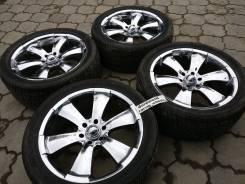 Продаю редкий комплект колёс MKW R22 для TLC Prado Lexus GX и другие. 9.5x22 6x139.70 ET10 ЦО 110,0мм. Под заказ