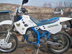 Kawasaki KDX 125. 125 куб. см., исправен, птс, с пробегом