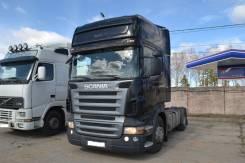 Scania. Тягач Скания R420 2007г, 12 000 куб. см., 25 000 кг.