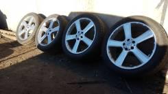 Комплект оригинальных колес Mercedes ML. 8.5x20 5x112.00 ET56 ЦО 66,6мм.