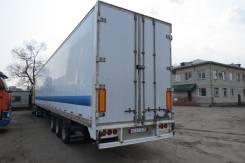 """Alloy. Продам полуприцеп-фургон """""""" в хорошем техническом состоянии, 30 844 кг."""