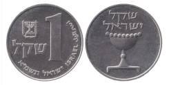 Израиль 1 шекель 1981-1985 (иностранные монеты)