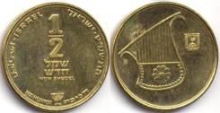 Израиль 1-2 шекеля 1987-1994 (иностранные монеты)