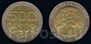 Колумбия 500 песо 2008 (иностранные монеты)