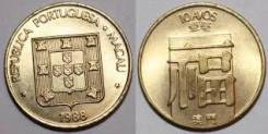 Макао 10 аво 1982 (иностранные монеты)