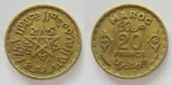 Марокко 20 франков 1952 (иностранные монеты)