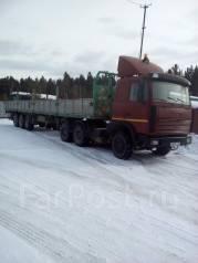 МАЗ 64229. Продам седельный тягач с прицепом. Возможен обмен., 14 860 куб. см., 24 000 кг.