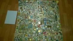 Большая Коллекция значков более 750 штук Много интересных