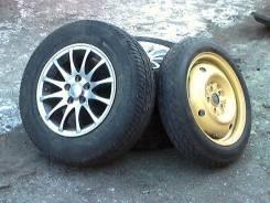 Продам литые диски на Тойота Калдина. 5.5x14, 5x100.00, ET35