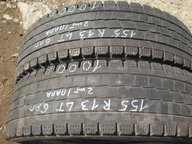 Dunlop DSV-01. Зимние, без шипов, 2010 год, износ: 80%, 2 шт