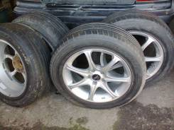 Литые диски с летней резиной на Nissan X-Trail. x17