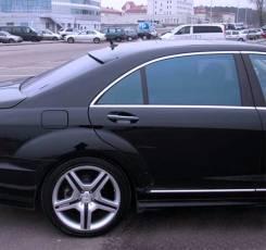 Спойлер на заднее стекло. Mercedes-Benz S-Class, W221