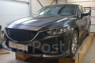 Накладка на бампер. Mazda Mazda6, GJ Двигатели: PYVPS, SHVPTS, PEVPS