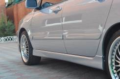 Накладка на порог. Mitsubishi Lancer