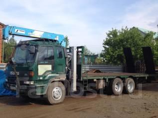 28-15-15 Услуги грузовика с краном 14/3 (эвакуатор, трал) в Хабаровске