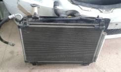 Радиатор охлаждения двигателя. Toyota Vitz, NCP95 Двигатель 2NZFE