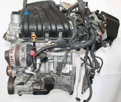 Двигатель в сборе. Nissan Note, E11 Двигатель HR15DE