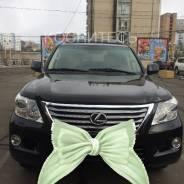 Услуга проката джипа Lexus LX570 для свадеб и встреч в Большом Камне. С водителем