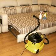 Химчистка диванов, ковров, мягкой мебели на дому