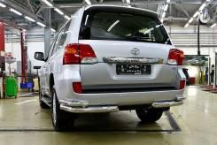 Защита бампера. Toyota Land Cruiser. Под заказ